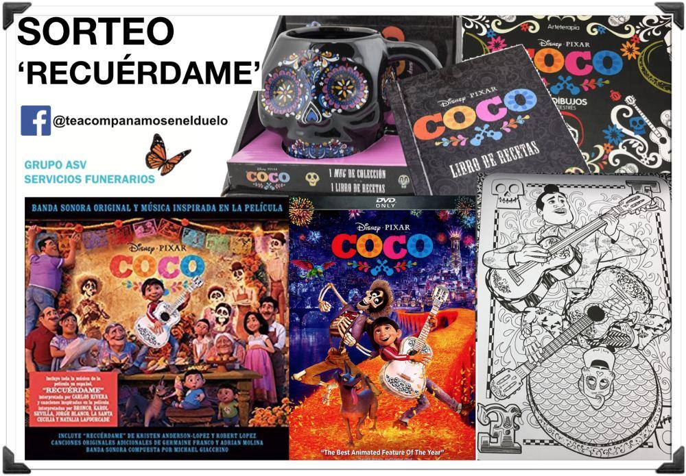 ¡Sorteamos 5 packs oficiales de la película 'Coco'!