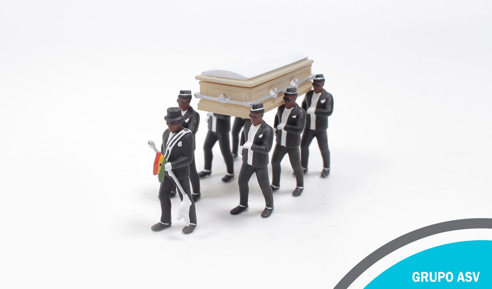 Celebrando el viaje: el funeral en Ghana