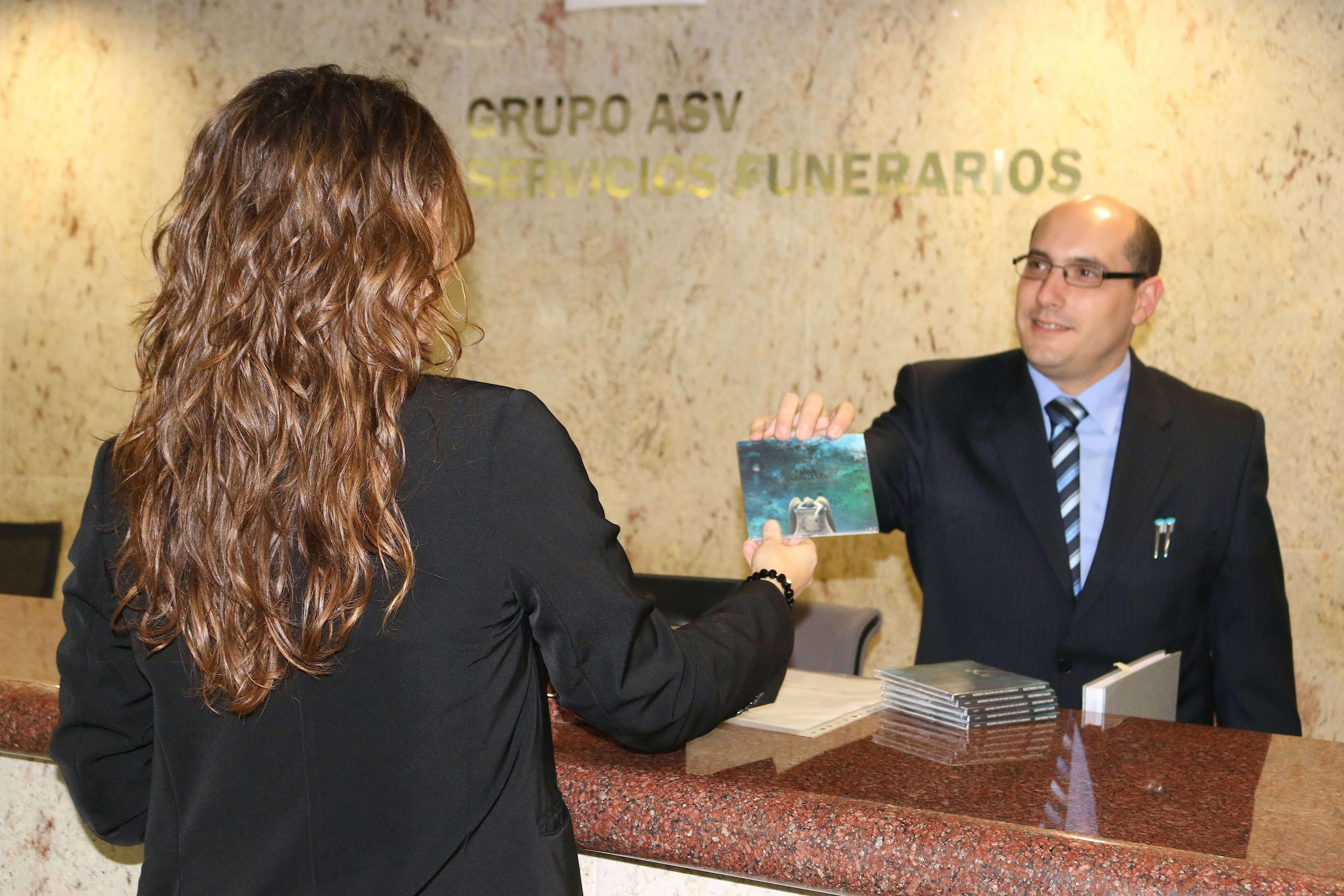 Customers of Grupo ASV Servicios Funerarios will receive a free CD